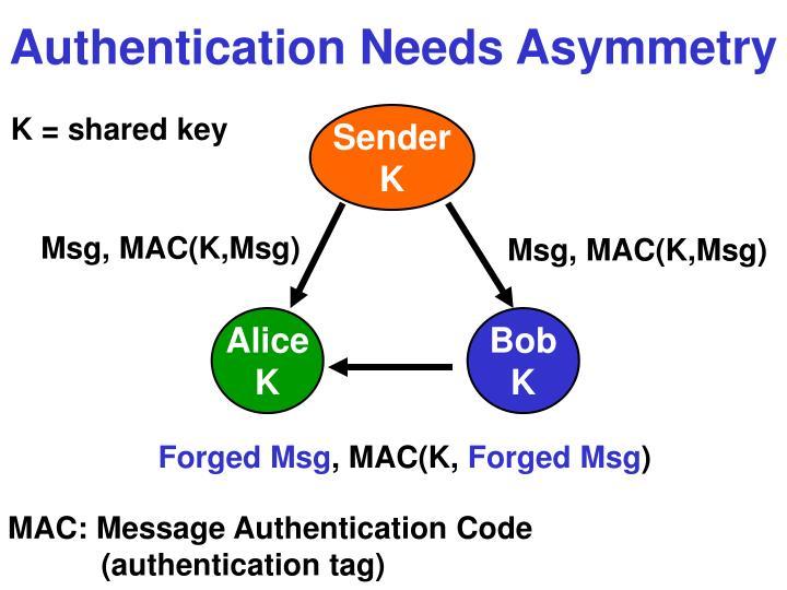 Msg, MAC(K,Msg)