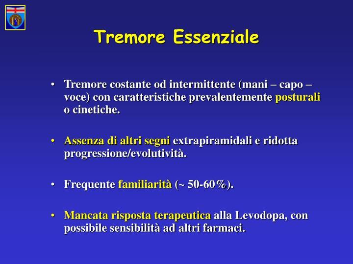 Tremore Essenziale
