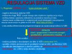regulacija sistema vzd