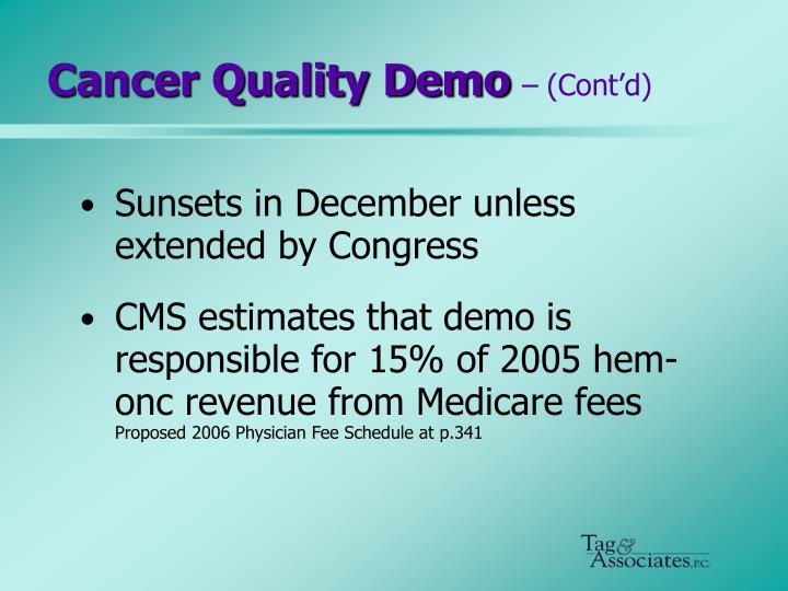 Cancer Quality Demo