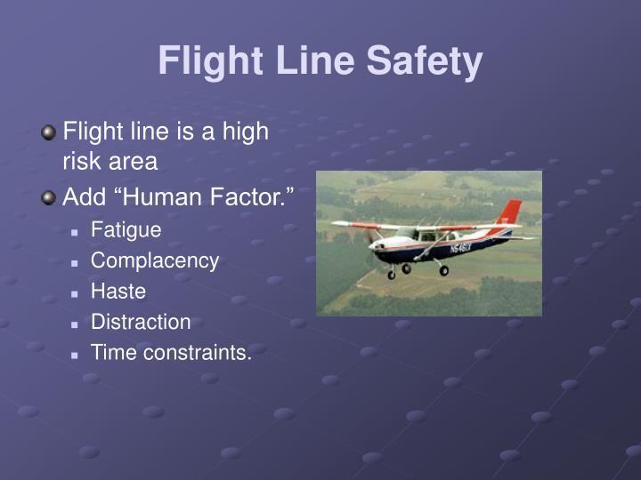 Flight Line Safety