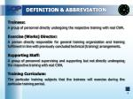 definition abbreviation