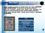 military training ground entry rules