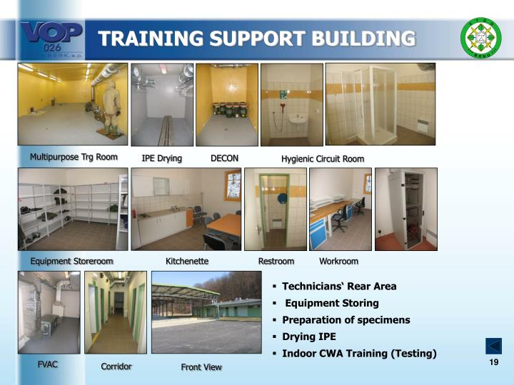 TRAINING SUPPORT BUILDING