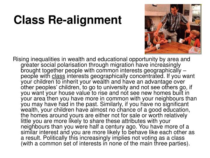 Class Re-alignment