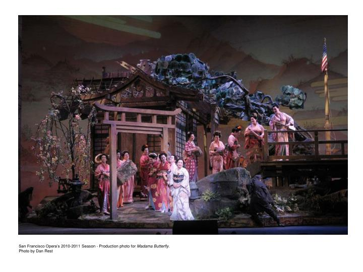 San Francisco Opera's 2010-2011 Season - Production photo for