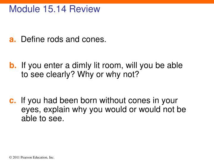 Module 15.14 Review
