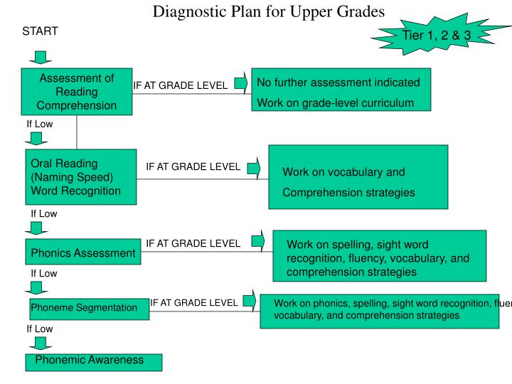 Diagnostic Plan for Upper Grades