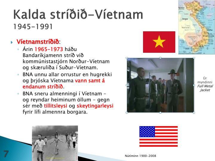 Kalda stríðið-Víetnam