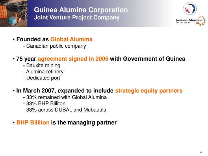 Guinea Alumina Corporation