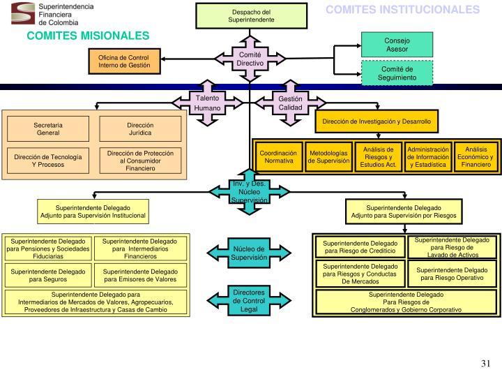 COMITES INSTITUCIONALES