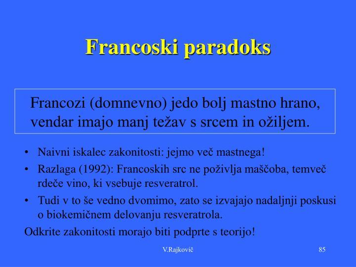 Francoski paradoks