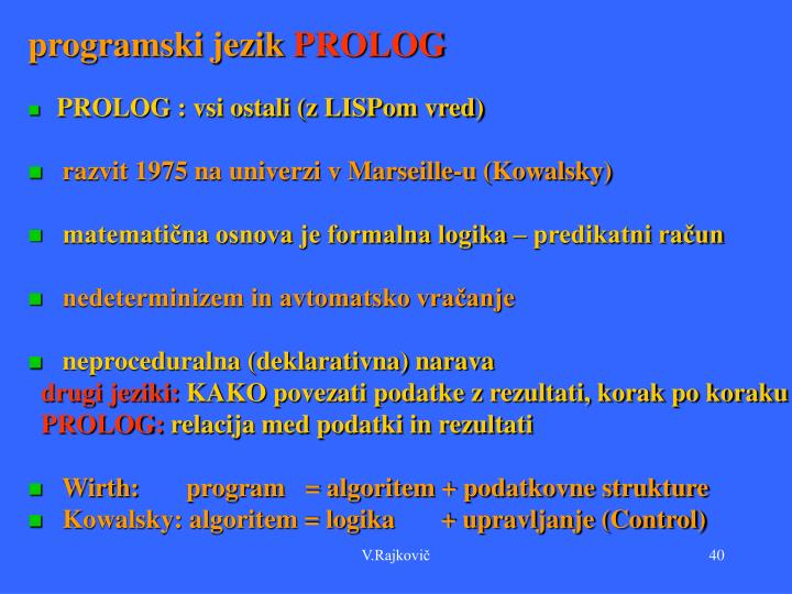 programski jezik