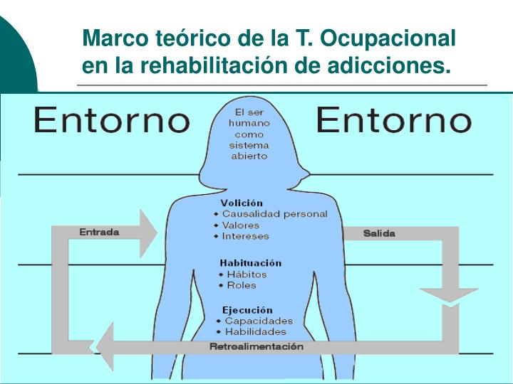 Marco teórico de la T. Ocupacional