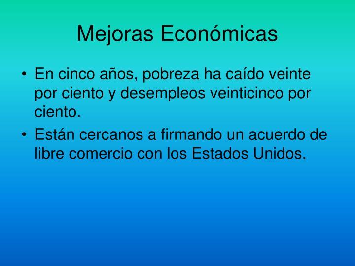 Mejoras Económicas