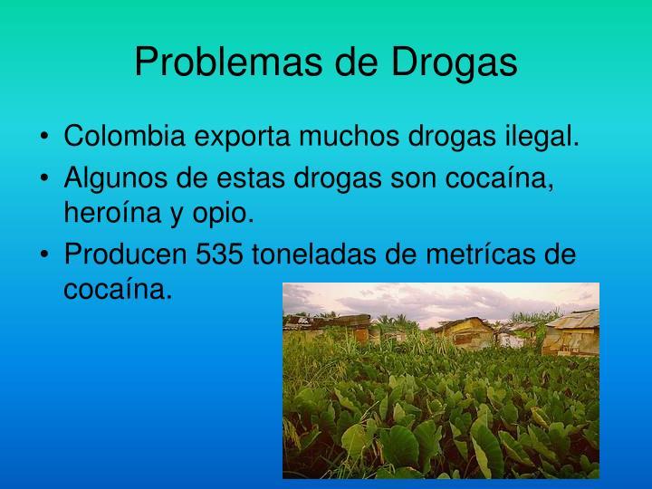 Problemas de Drogas