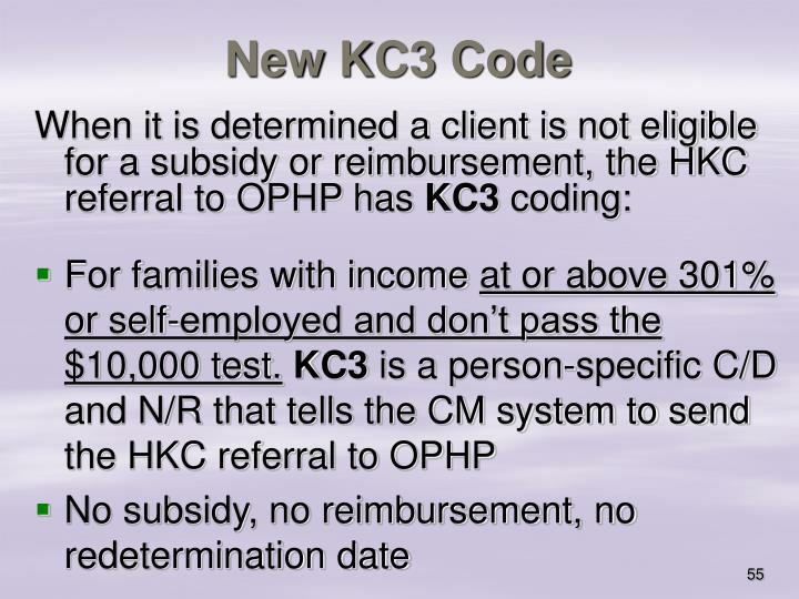 New KC3 Code