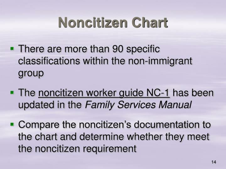 Noncitizen Chart