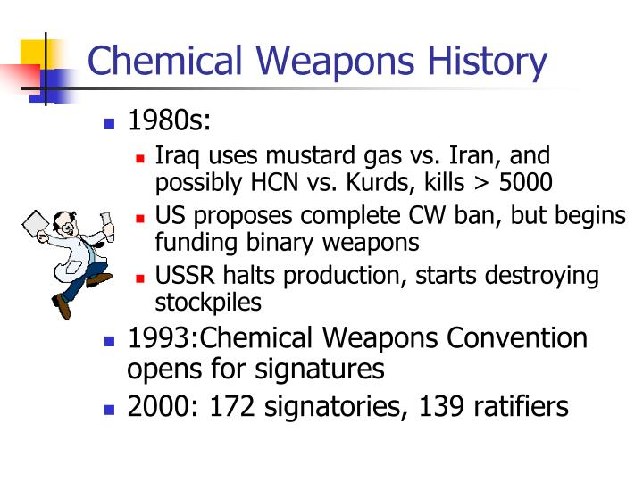 Chemical Weapons History