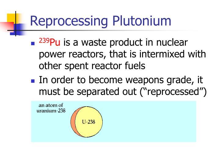 Reprocessing Plutonium