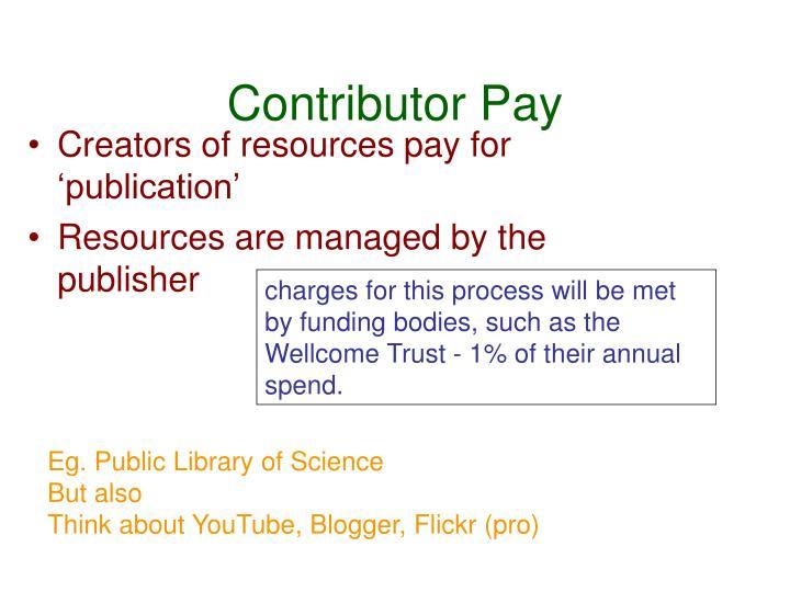 Contributor Pay