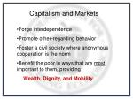 capitalism and markets
