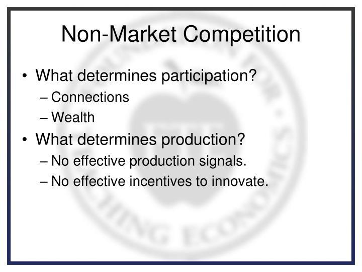 Non-Market Competition