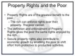 property rights and the poor
