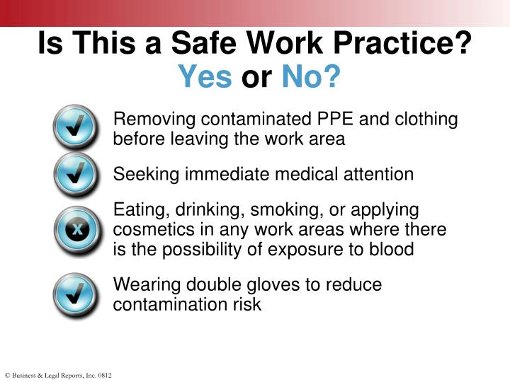 Is This a Safe Work Practice?