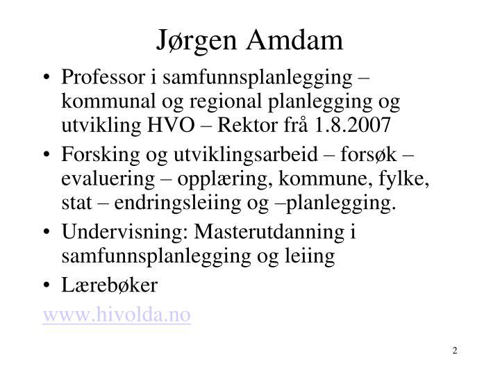 Jørgen Amdam