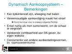 dynamisch aankoopsysteem bemerkingen