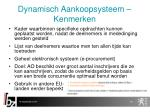dynamisch aankoopsysteem kenmerken