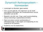 dynamisch aankoopsysteem voorwaarden