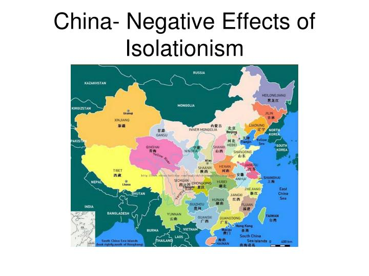 China- Negative Effects of