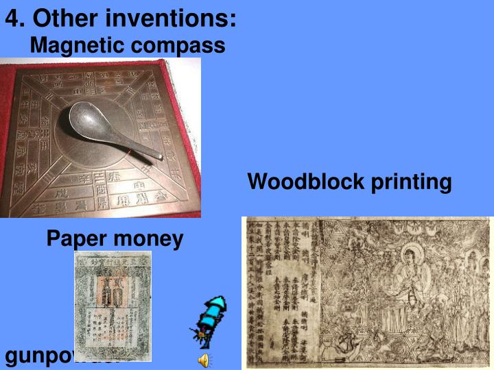 4. Other inventions: