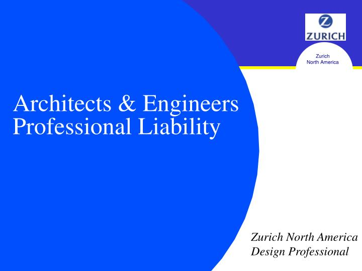 professional and design liability