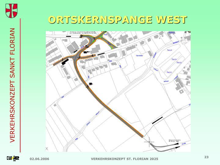 ORTSKERNSPANGE WEST