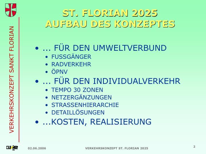 ST. FLORIAN 2025