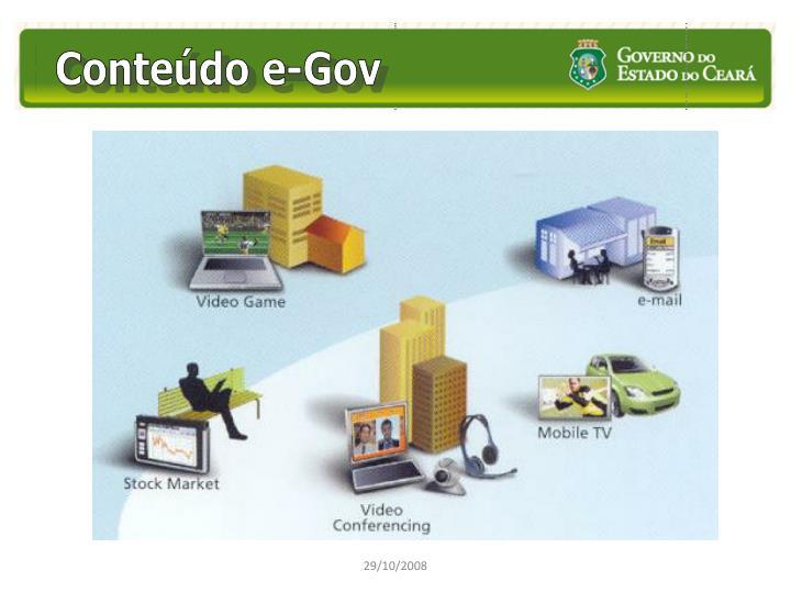 Conteúdo e-Gov