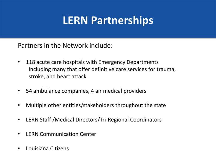 LERN Partnerships