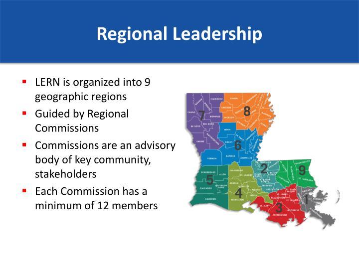 Regional Leadership