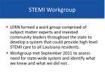 stemi workgroup