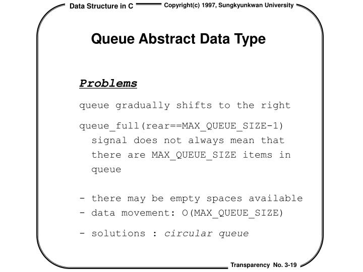 Queue Abstract Data Type