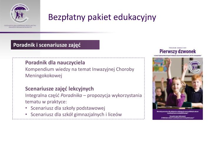 Bezpłatny pakiet edukacyjny