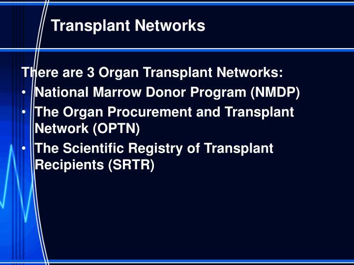 Transplant Networks