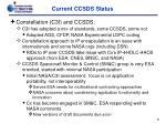 current ccsds status2