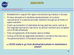 ecss facts