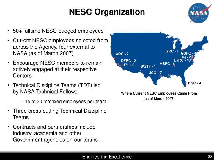 NESC Organization
