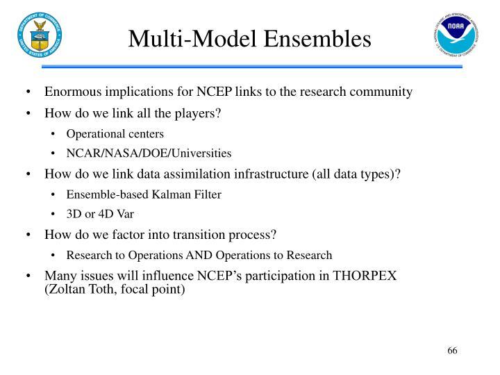 Multi-Model Ensembles