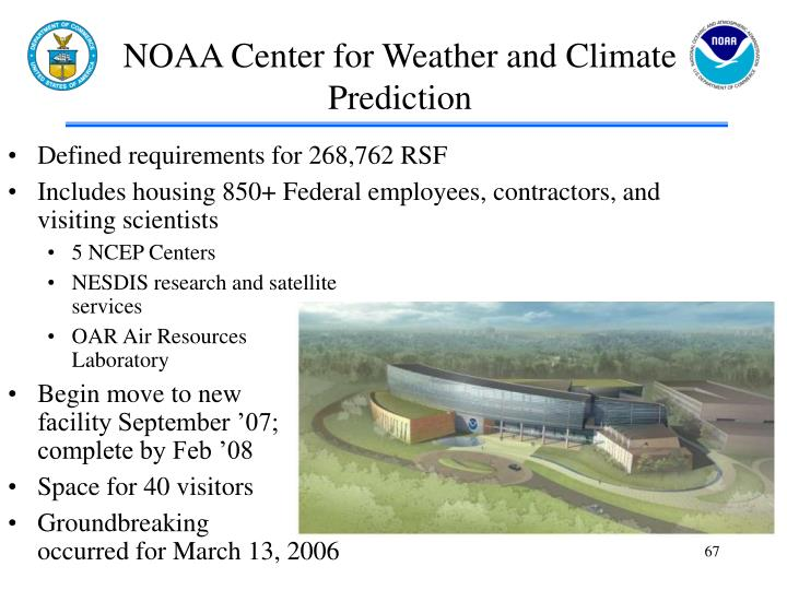 NOAA Center for Weather and Climate Prediction